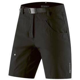 Gonso Mira Pantaloncini Da Ciclismo Donna, nero